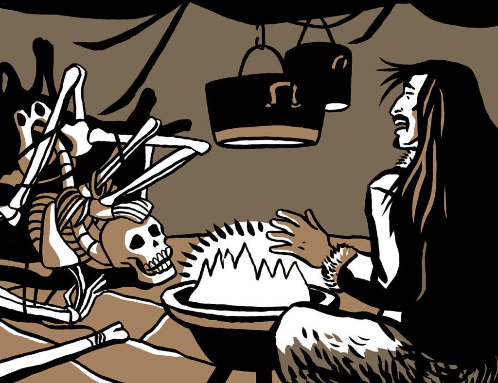 La femme squelette de Catherine Chion